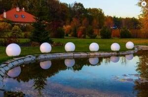 Kula solarna Flexi Ball Solar o średnicy 50 cm z pilotem small 1