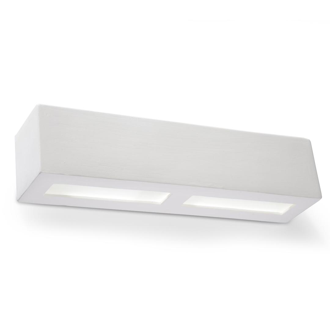 Biały Kinkiet Ceramiczny LIBRA SL.0007