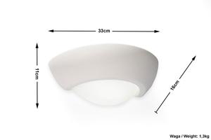 Biały Kinkiet Ceramiczny VIRGO SL.0009 small 4