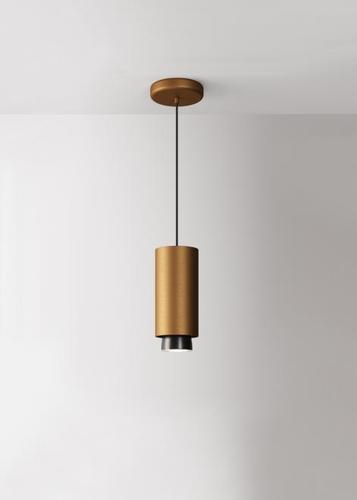 Lampa wisząca Fabbian Claque F43 20W 20cm - Brąz - F43 A03 76