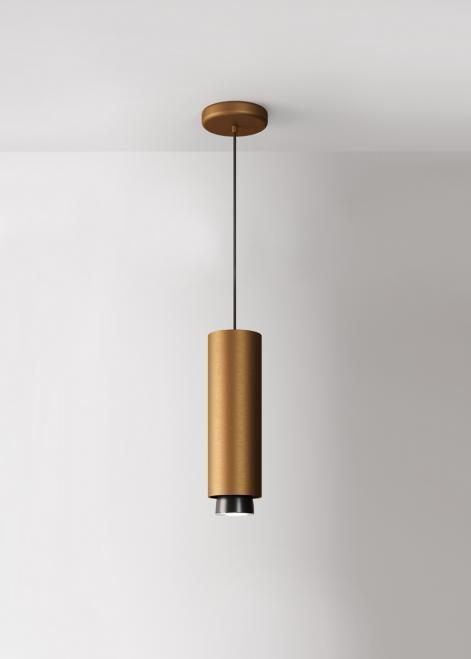 Lampa wisząca Fabbian Claque F43 20W 30cm - Brąz - F43 A05 76