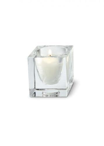 Dekoracja Fabbian Cubetto D28 na świeczkę - Przeźroczysty - D28 Z01 00