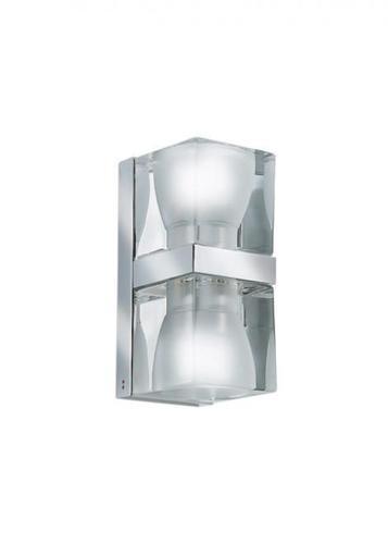 Kinkiet Fabbian Cubetto D28 5W Chrome - Przeźroczysty - D28 D02 00