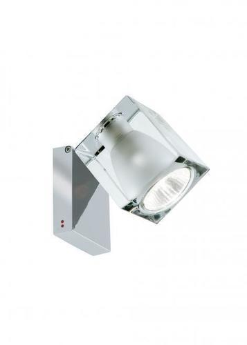 Reflektorek Fabbian Cubetto D28 7W Chrome - Przeźroczysty - D28 G03 00