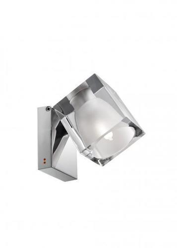 Reflektorek Fabbian Cubetto D28 5W Chrome - Przeźroczysty - D28 G04 00
