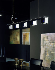 Reflektorek Fabbian Cubetto D28 5W Chrome - Przeźroczysty - D28 G01 00 small 8