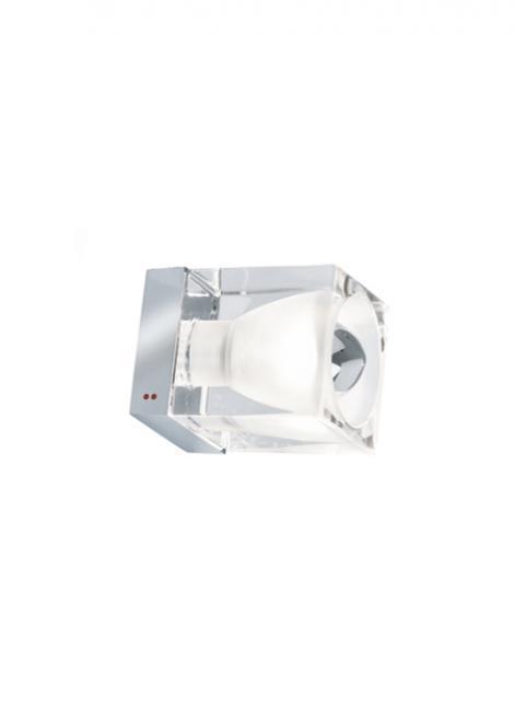 Reflektorek Fabbian Cubetto D28 5W Chrome - Przeźroczysty - D28 G01 00