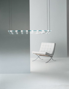 Lampa wisząca Fabbian Sospesa D42 5W L - Przeźroczysty - D42 A21 00 small 1