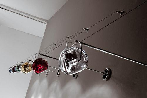 Lampa wisząca Fabbian Beluga Colour D57 7W Szynoprzewód - Przeźroczysty - D57 J05 00