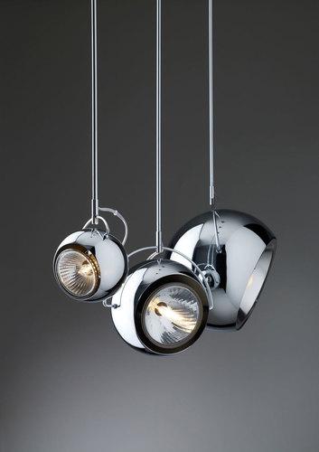 Lampa wisząca Fabbian Beluga Steel D57 10W 14cm - D57 A07 15