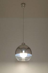 Biała Lampa Wisząca COSMO Chrom SL.0083 small 2