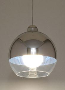 Biała Lampa Wisząca COSMO Chrom SL.0083 small 3