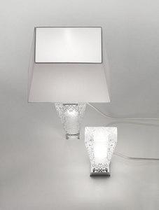 Lampa biurkowa Fabbian Vicky D69 5W + abażur - Biały - D69 B03 01 small 2