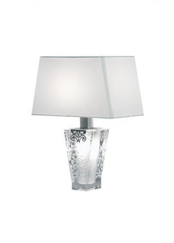 Lampa biurkowa Fabbian Vicky D69 5W + abażur - Biały - D69 B03 01