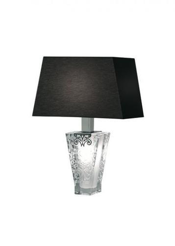 Lampa biurkowa Fabbian Vicky D69 5W + abażur - czarny - D69 B03 02
