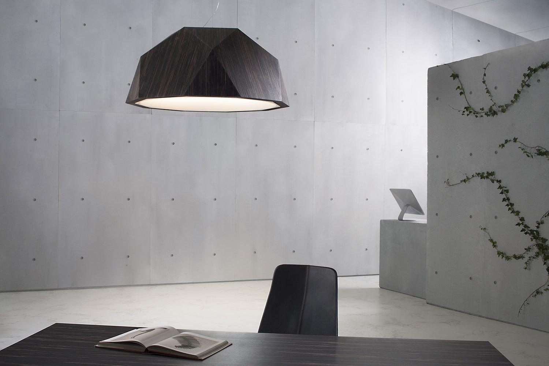Lampa wisząca Fabbian Crio D81 8W 115cm - Ciemne drewno - D81 A13 48