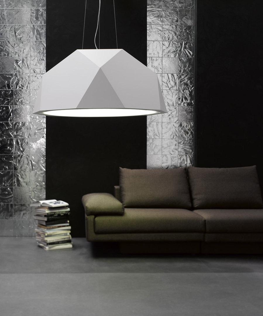 Lampa wisząca Fabbian Crio D81 8W 180cm - Biały - D81 A17 01