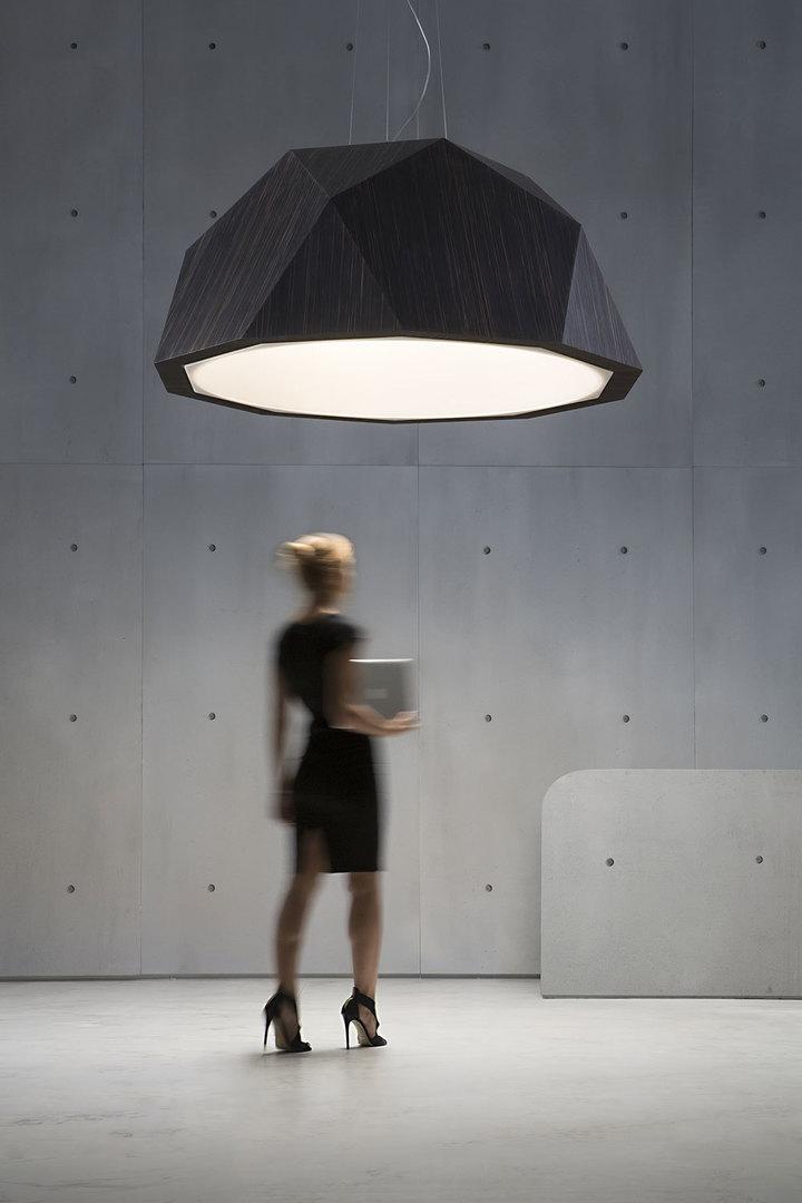 Lampa wisząca Fabbian Crio D81 8W 180cm - Ciemne drewno - D81 A17 48