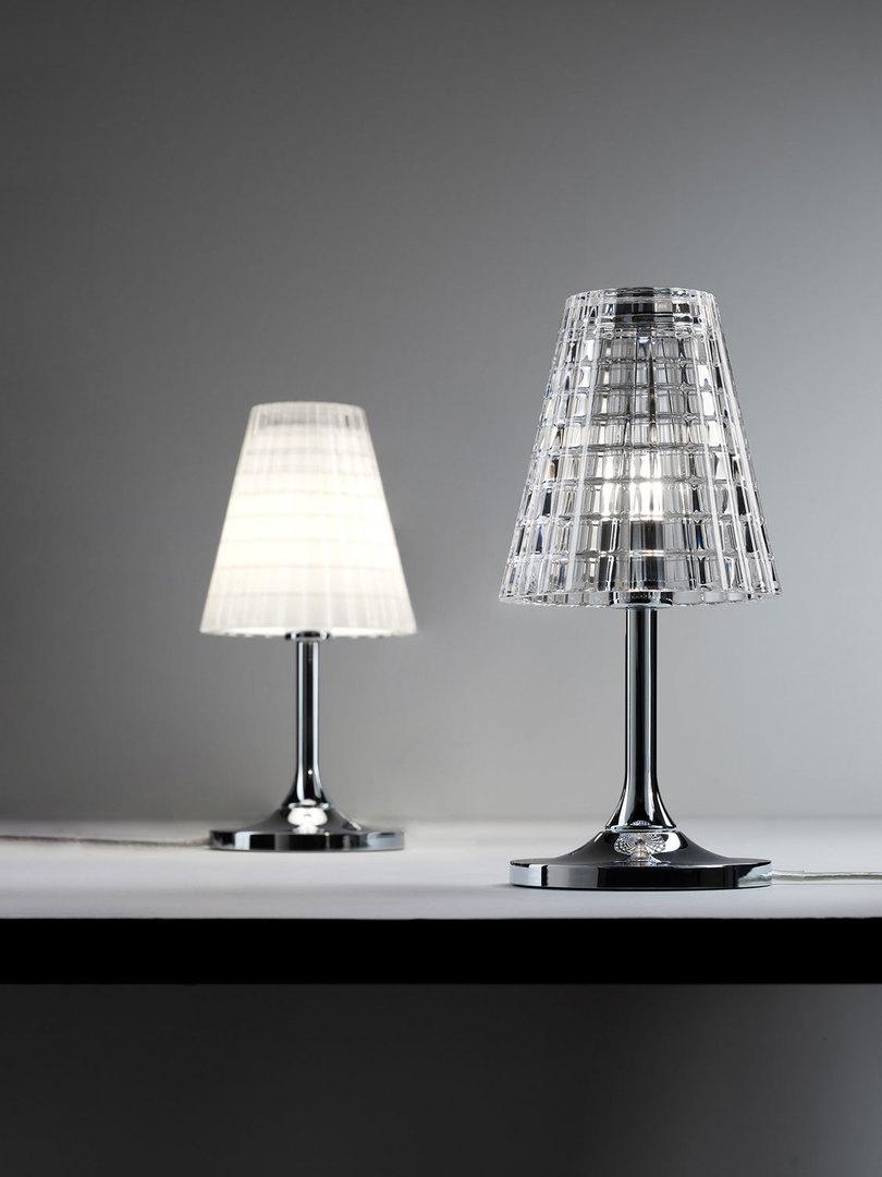 Lampa biurkowa Fabbian Flow D87 5W 12cm - Przeźroczysty - D87 B01 00