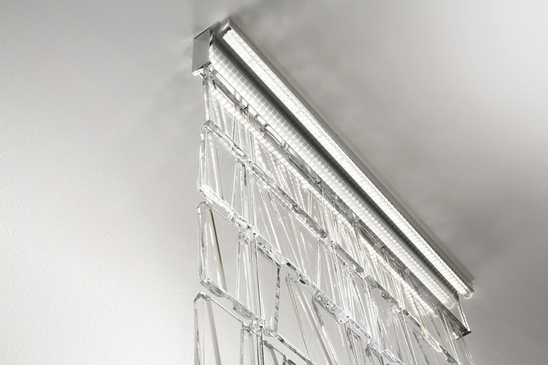 Akcesoria Fabbian Tile D95 Pasek zakrywający 19cm - Polerowane aluminium - D95 Z16 27