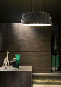 Lampa wisząca Fabbian Roofer F12 57cm - Zielony - F12 A01 43 small 6
