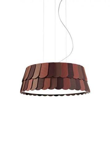 Lampa wisząca Fabbian Roofer F12 59cm - pomarańczowy - F12 A05 32