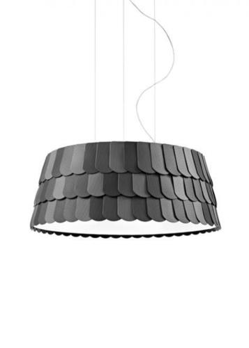 Lampa wisząca Fabbian Roofer F12 79cm - antracyt - F12 A07 21