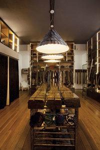 Lampa wisząca Fabbian Roofer F12 119cm - antracyt - F12 A09 21 small 5
