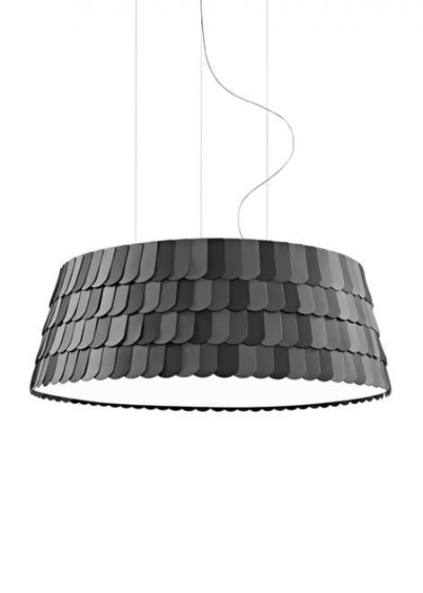 Lampa wisząca Fabbian Roofer F12 119cm - antracyt - F12 A09 21