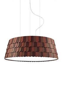 Lampa wisząca Fabbian Roofer F12 119cm - pomarańczowy - F12 A09 32 small 0