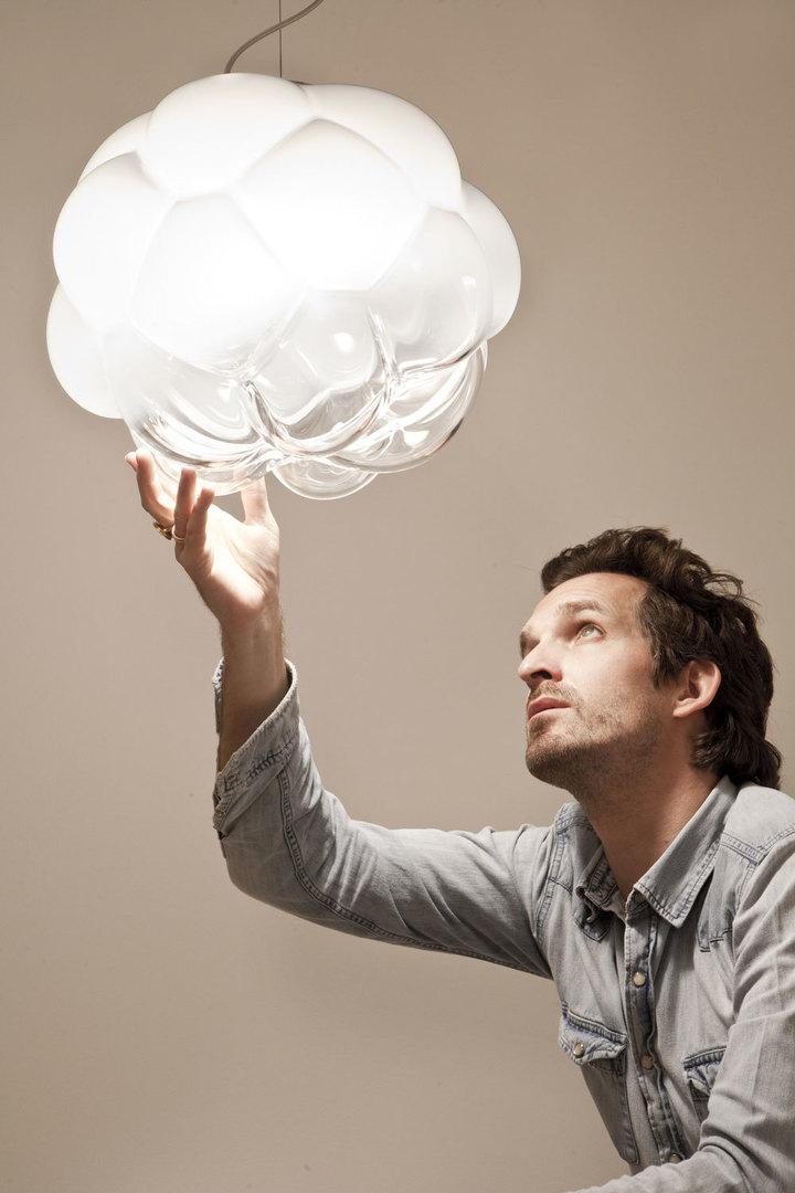 Lampa wisząca Fabbian Cloudy F21 7W 26cm - F21 A01 71