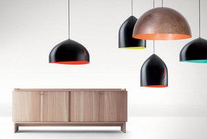 Lampa wisząca Fabbian Oru F25 22W 37,5cm - Czarny oraz czerwony - F25 A01 03 small 1