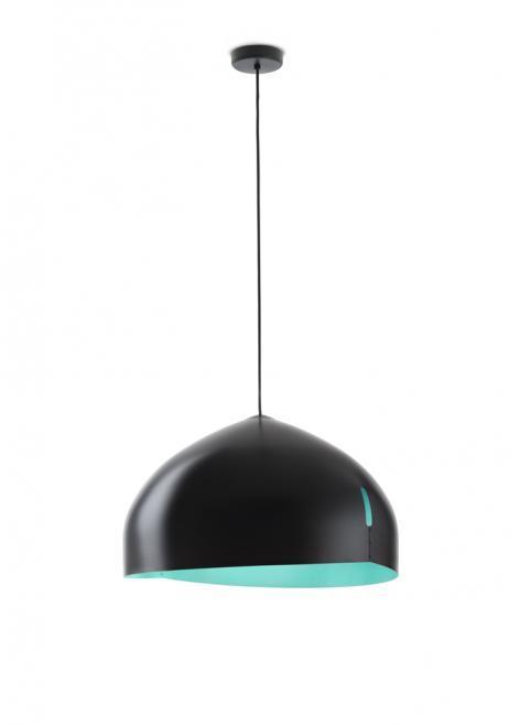 Lampa wisząca Fabbian Oru F25 56cm - Czarny oraz niebieski olejowany - F25 A03 73