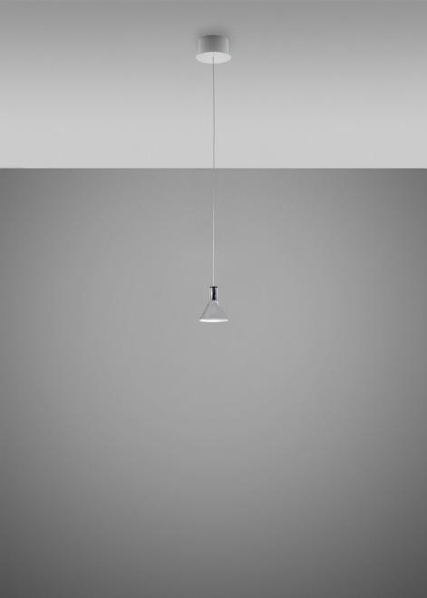 Lampa wisząca Fabbian Multispot F32 1W 13cm - Chromowany - F32 A41 00
