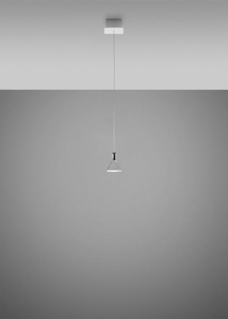 Lampa wisząca Fabbian Multispot F32 13x13cm - Chromowany - F32 A46 00