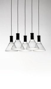 Lampa wisząca Fabbian Multispot F32 30x15cm - 5 - Chromowany - F32 A47 00 small 8