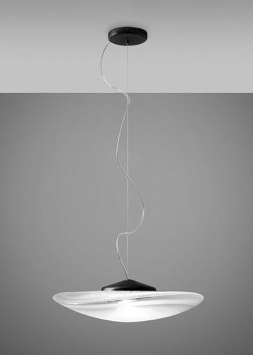 Lampa wisząca Fabbian Loop F35 17W Czarna podsufitka - F35 A01 00