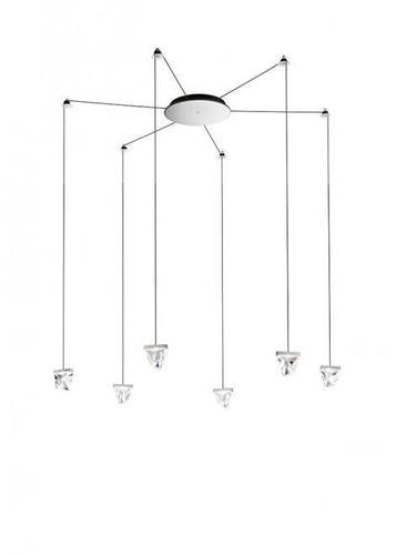 Lampa wisząca Fabbian Tripla F41 3W 6 - Chromowany - F41 G03 11