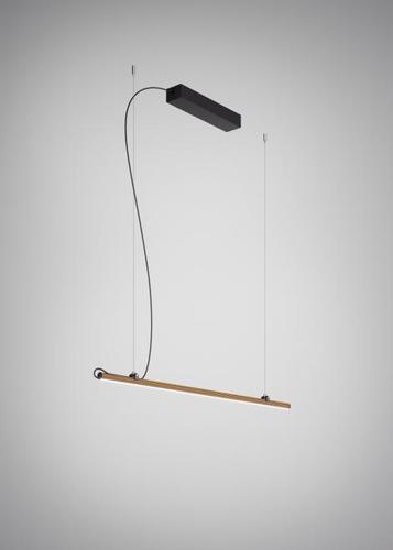 Lampa wisząca Fabbian Freeline F44 4W 1m - Brąz - F44 A02 76