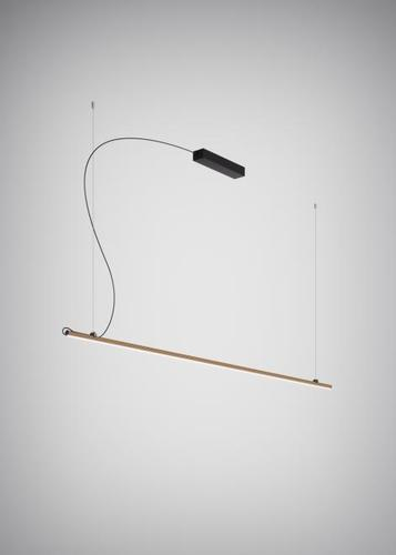 Lampa wisząca Fabbian Freeline F44 8W 2m - Brąz - F44 A03 76