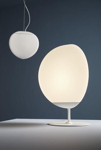 Lampa stołowa Fabbian Fruitfull F51 14W 22cm 2700K - Biały - F51 B02 01