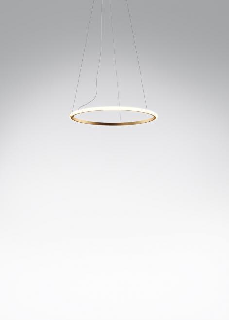 Lampa wisząca Fabbian Olympic F45 45W 60,2cm 3000K - Brązowy - F45 A07 76