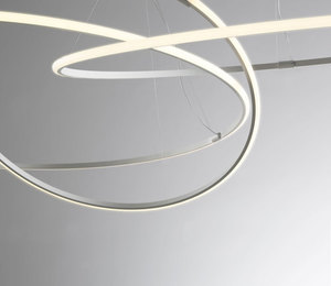 Lampa wisząca Fabbian Olympic F45 56W 80,2cm 2700K - Biały - F45 A02 01 small 8