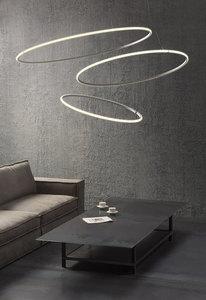 Lampa wisząca Fabbian Olympic F45 98W 138,7cm 2700K - Biały - F45 A06 01 small 7