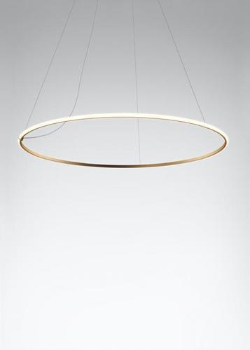 Lampa wisząca Fabbian Olympic F45 98W 138,7cm 3000K - Brąz - F45 A05 76