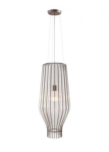 Lampa wisząca Fabbian Saya F47 22W 31cm - Przeźroczysty oraz przydymiany - F47 A17 00
