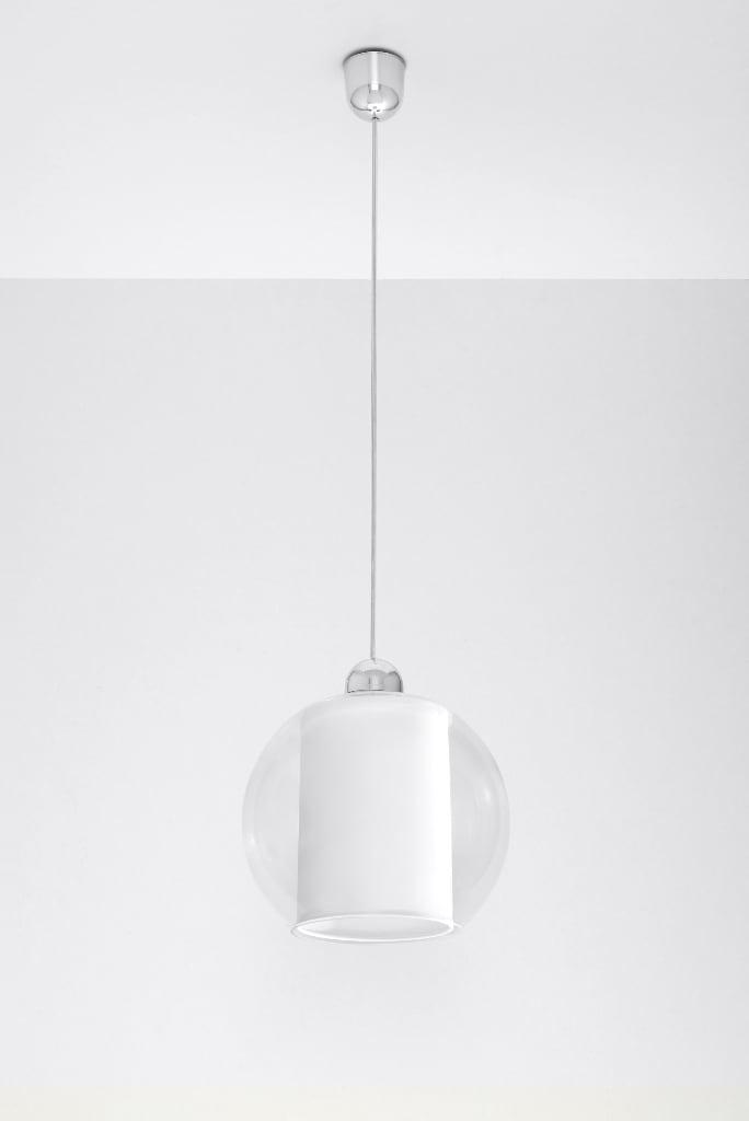 Lampa wisząca Aureole Biała