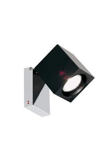 Reflektorek Fabbian Cubetto D28 7W Chrome - czarny - D28 G03 02