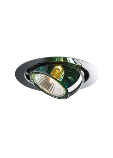 Oprawa wpuszczana Fabbian Beluga Colour D57 7W - Zielony - D57 F01 43