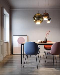 Lampa wisząca Fabbian Beluga Royal D57 22W 40cm - Złoty - D57 A61 12 small 1